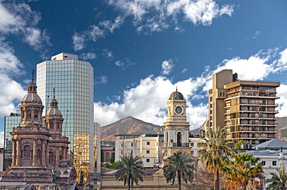 Santiago Chile downtown